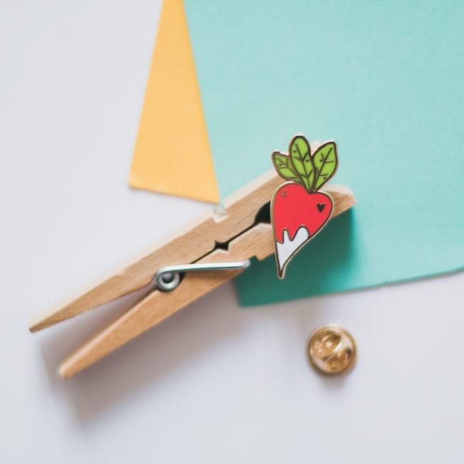 Atelier Mouette Pin's émaillé Boutique